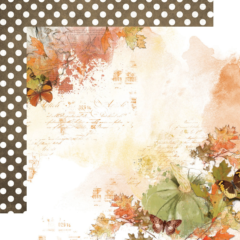 Simple Vintage Country Harvest Forever Fall Paper