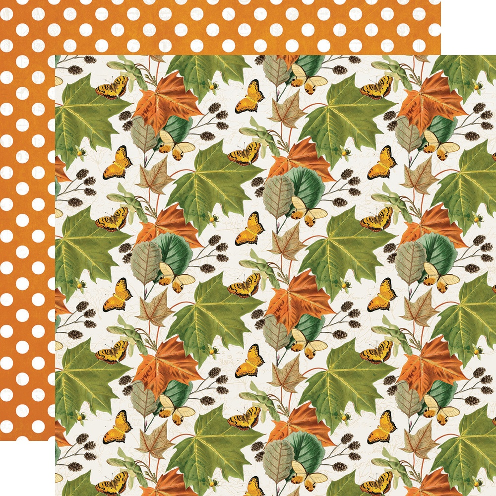 Simple Vintage Country Harvest - FAVORITE SEASON - 12x12 Double-Sided Paper