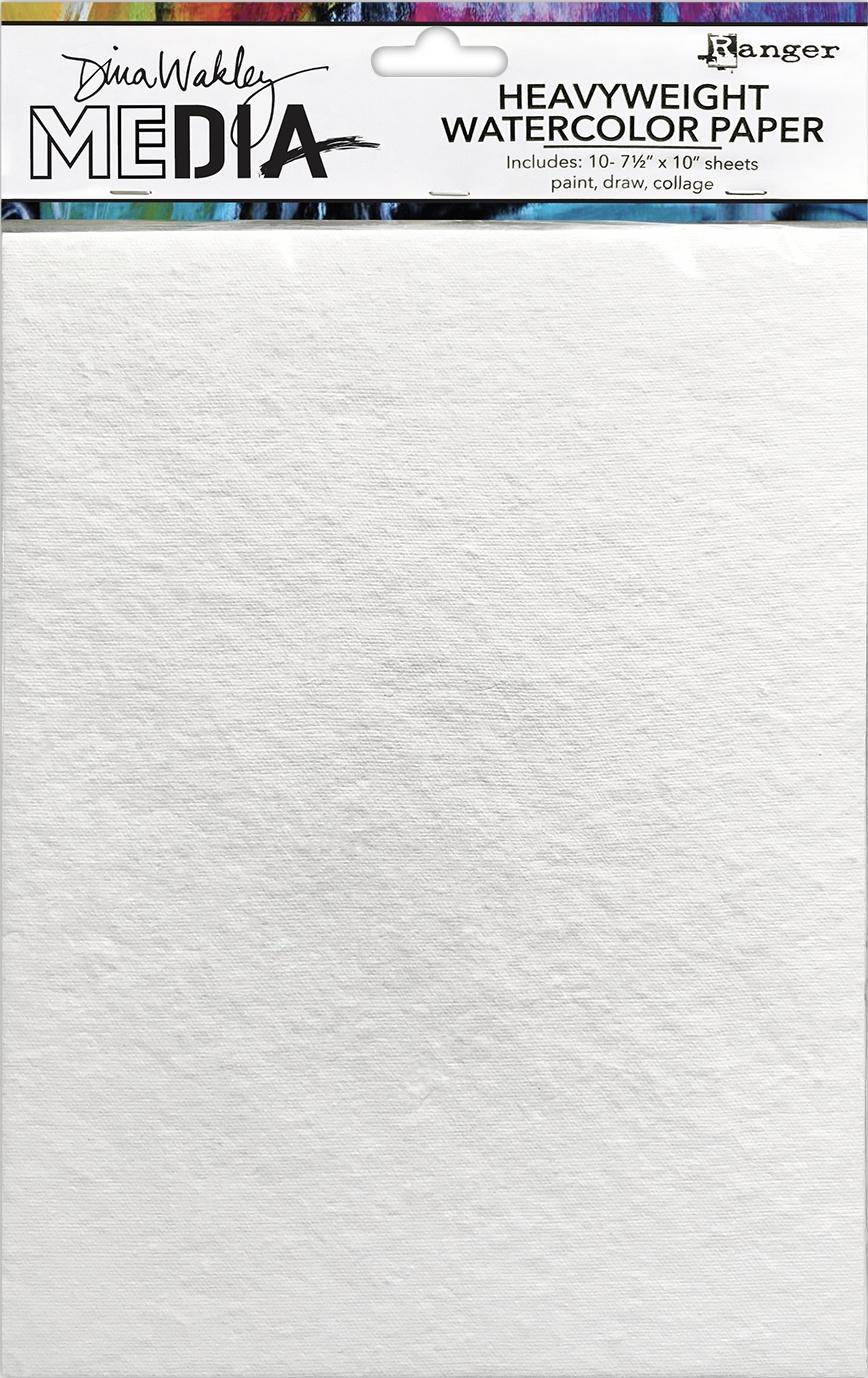 Dina Wakley Media Heavyweight Watercolor Paper Pack-