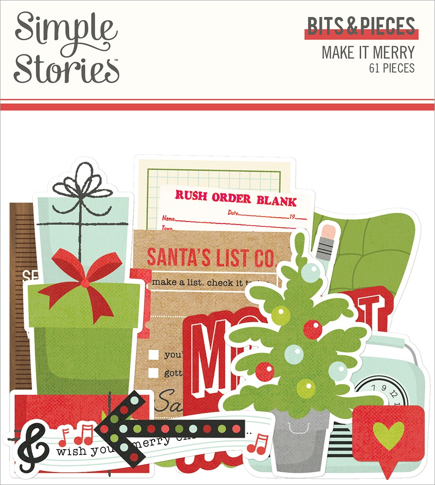 Simple Stories - Make It Merry - Bits & Pieces
