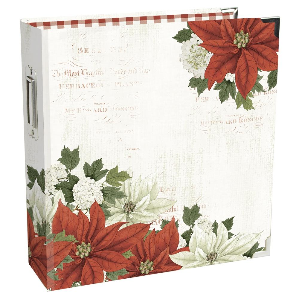 Simple Stories Sn@p! Binder 6X8-Simple Vintage Rustic Christmas