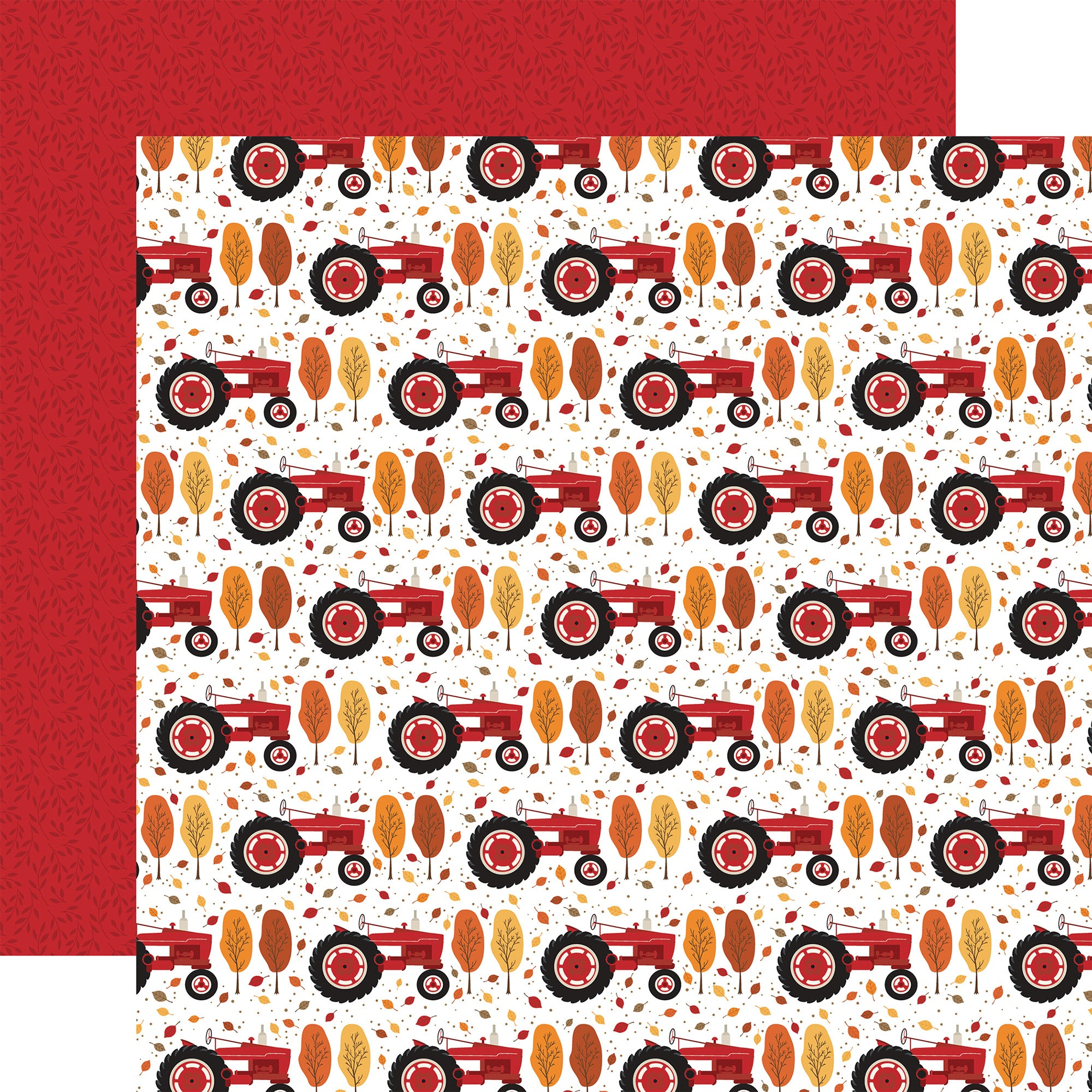 Echo Park - Fall - HAY DAY - 12x12 Double-Sided Paper