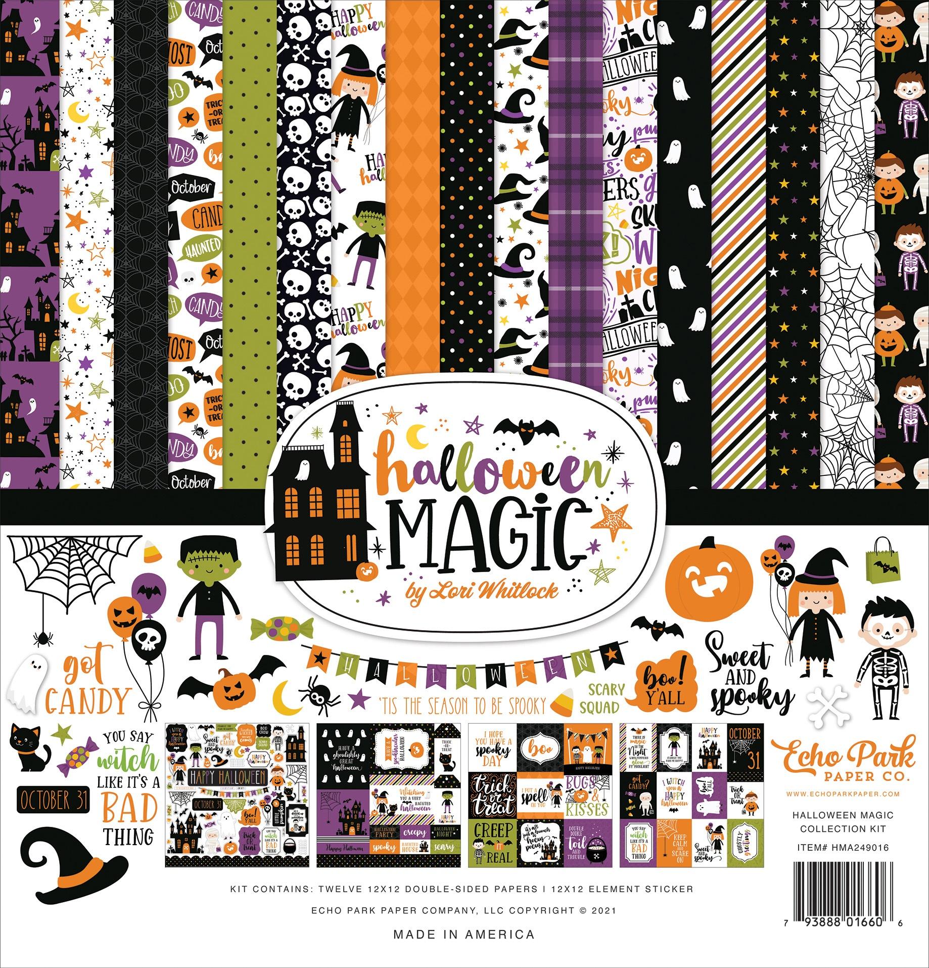 Echo Park Collection Kit 12X12-Halloween Magic