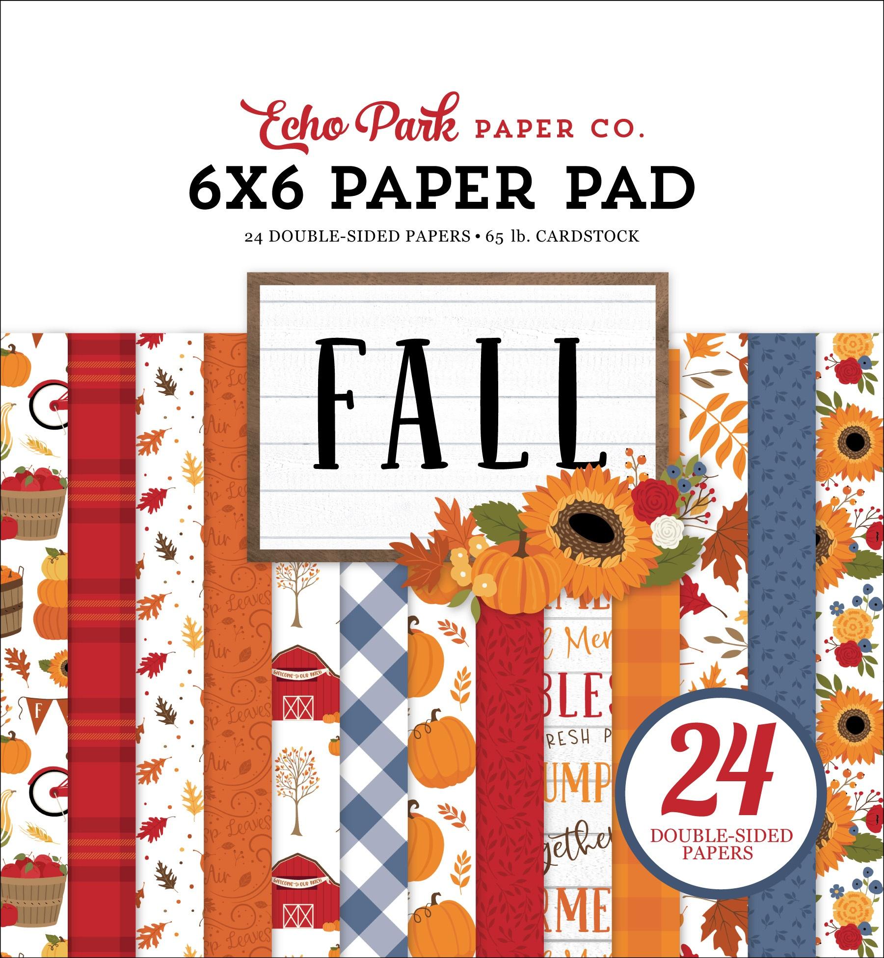 Echo Park - Fall - 6x6 Paper Pad