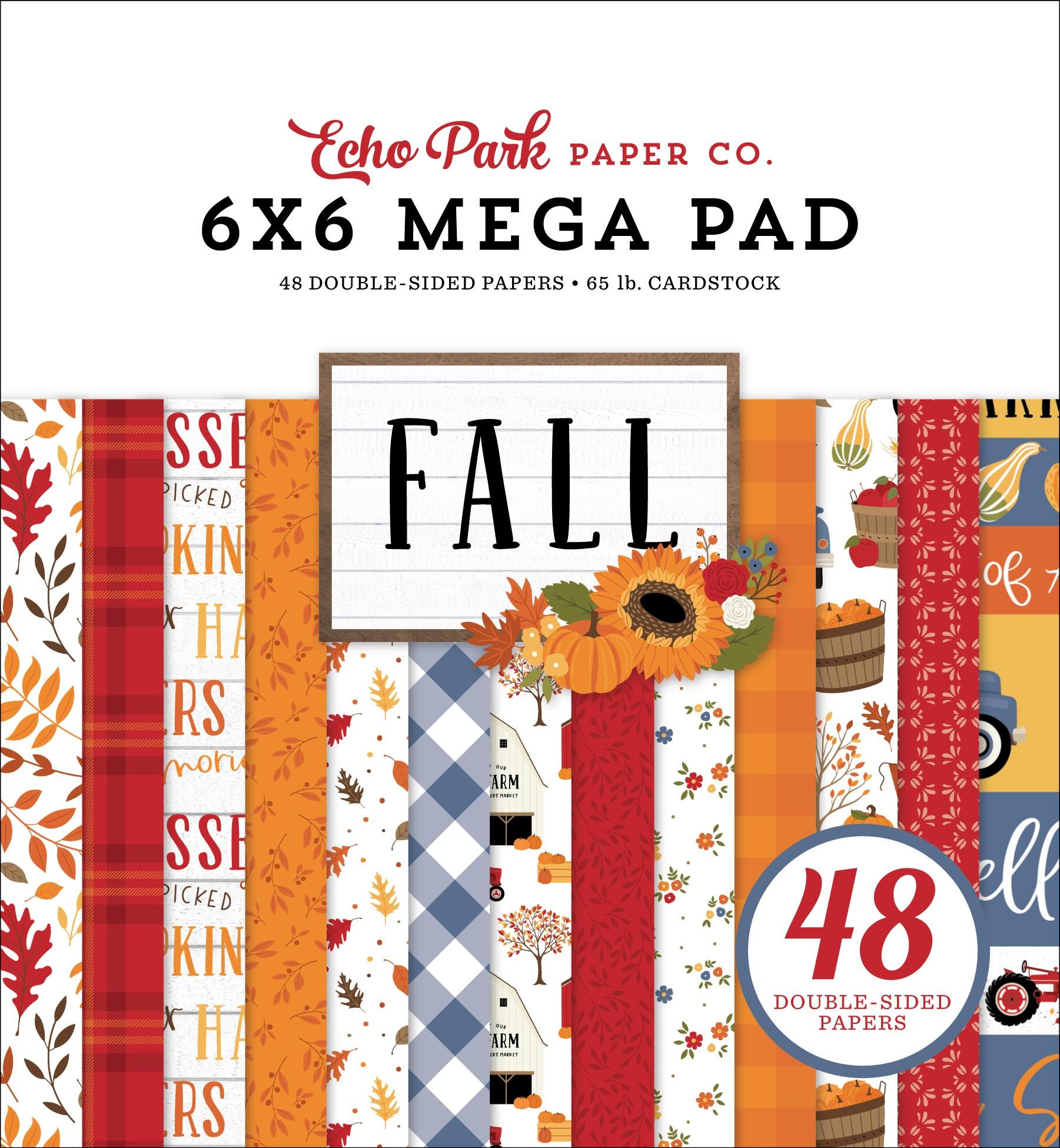 Echo Park - Fall - 6x6 Mega Paper Pad