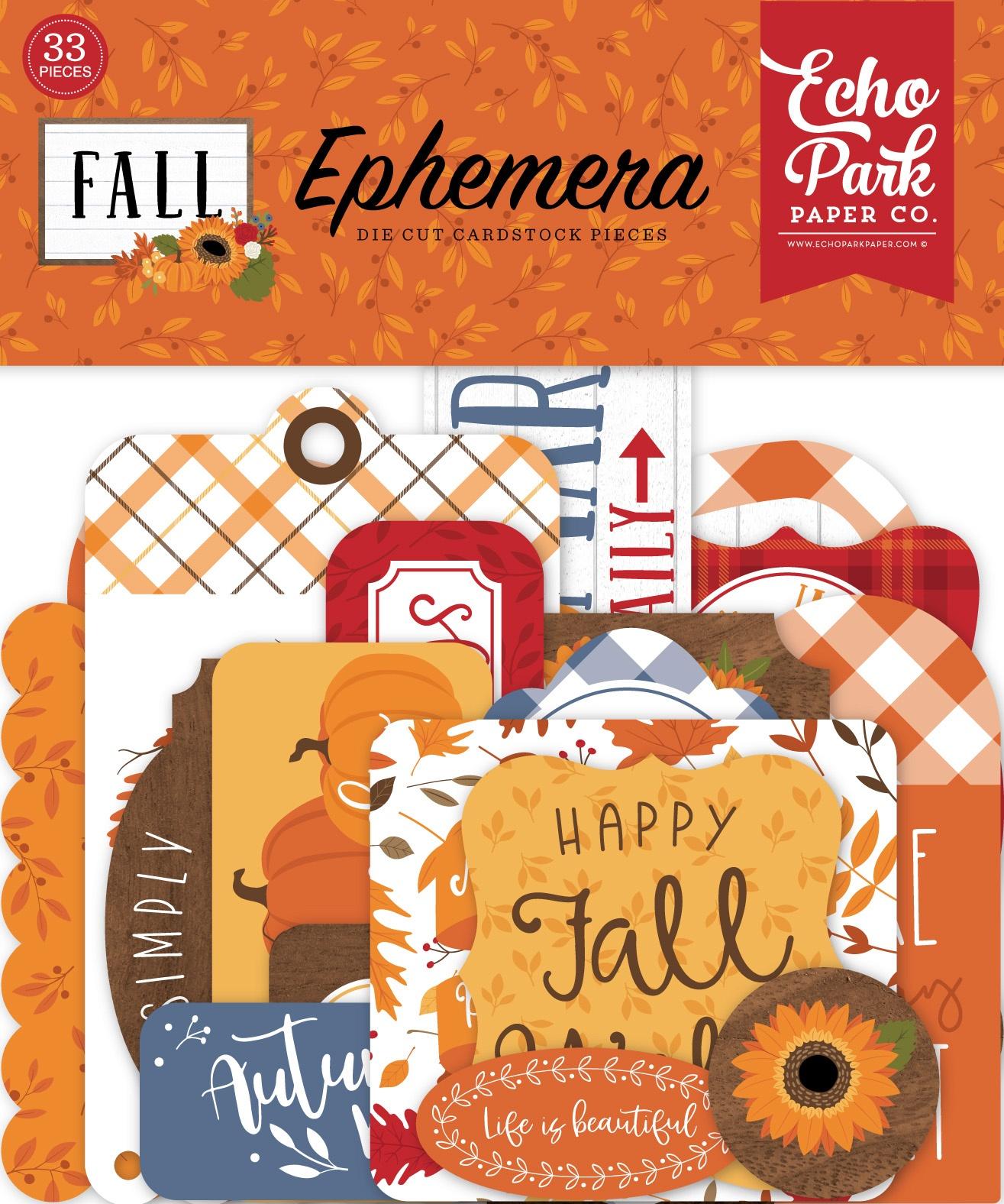 Echo Park - Fall - Ephemera