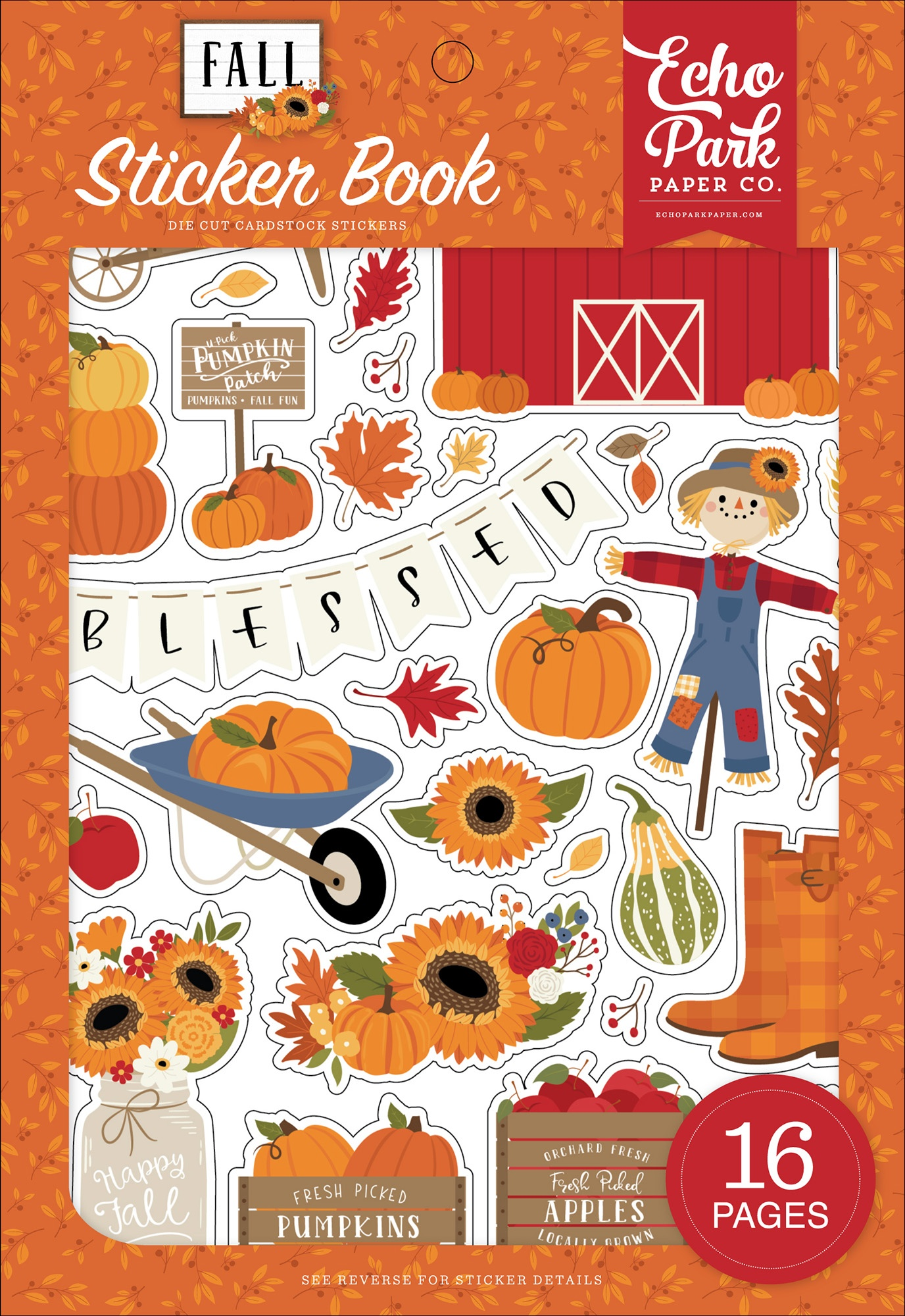 Echo Park - Fall - Sticker Book