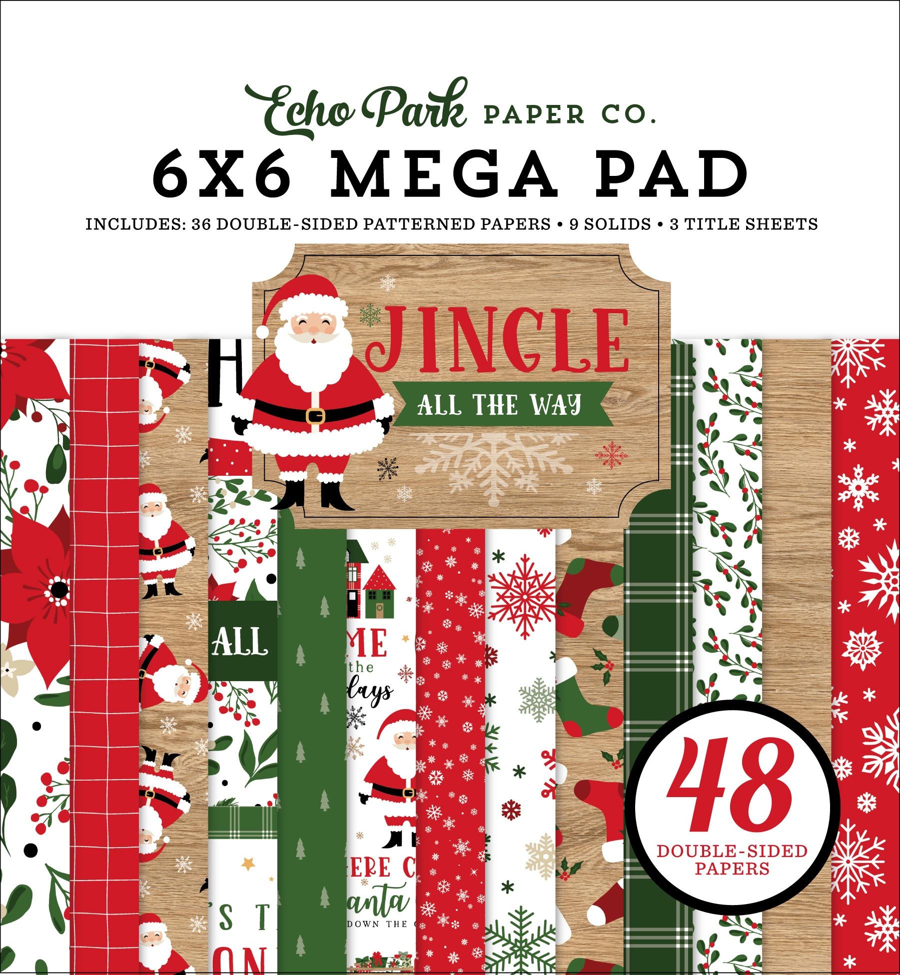 Echo Park - Jingle All The Way - 6x6 Mega Paper Pad