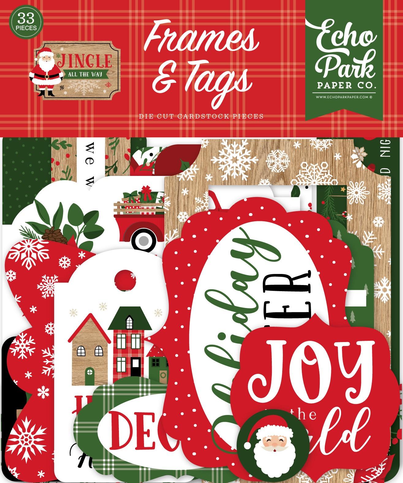 Echo Park - Jingle All The Way - Frames & Tags