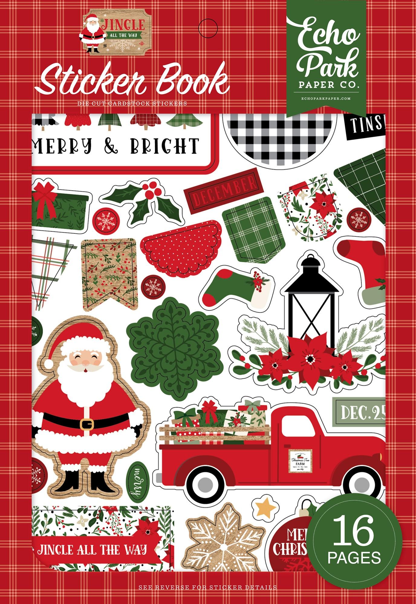 Echo Park - Jingle All The Way - Sticker Book