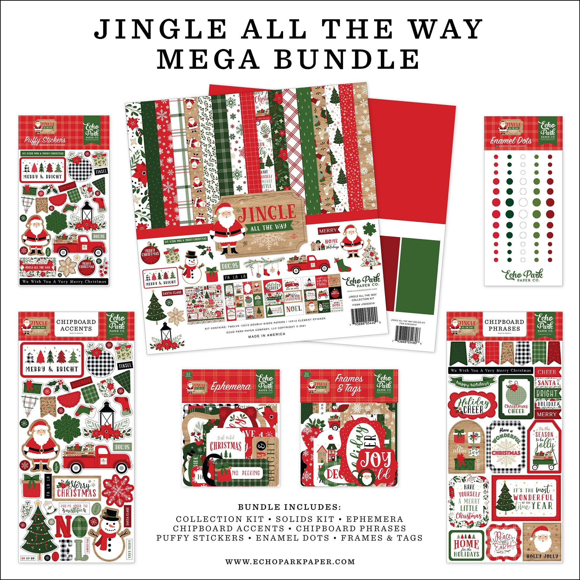 Echo Park - Jingle All The Way - Mega BUNDLE