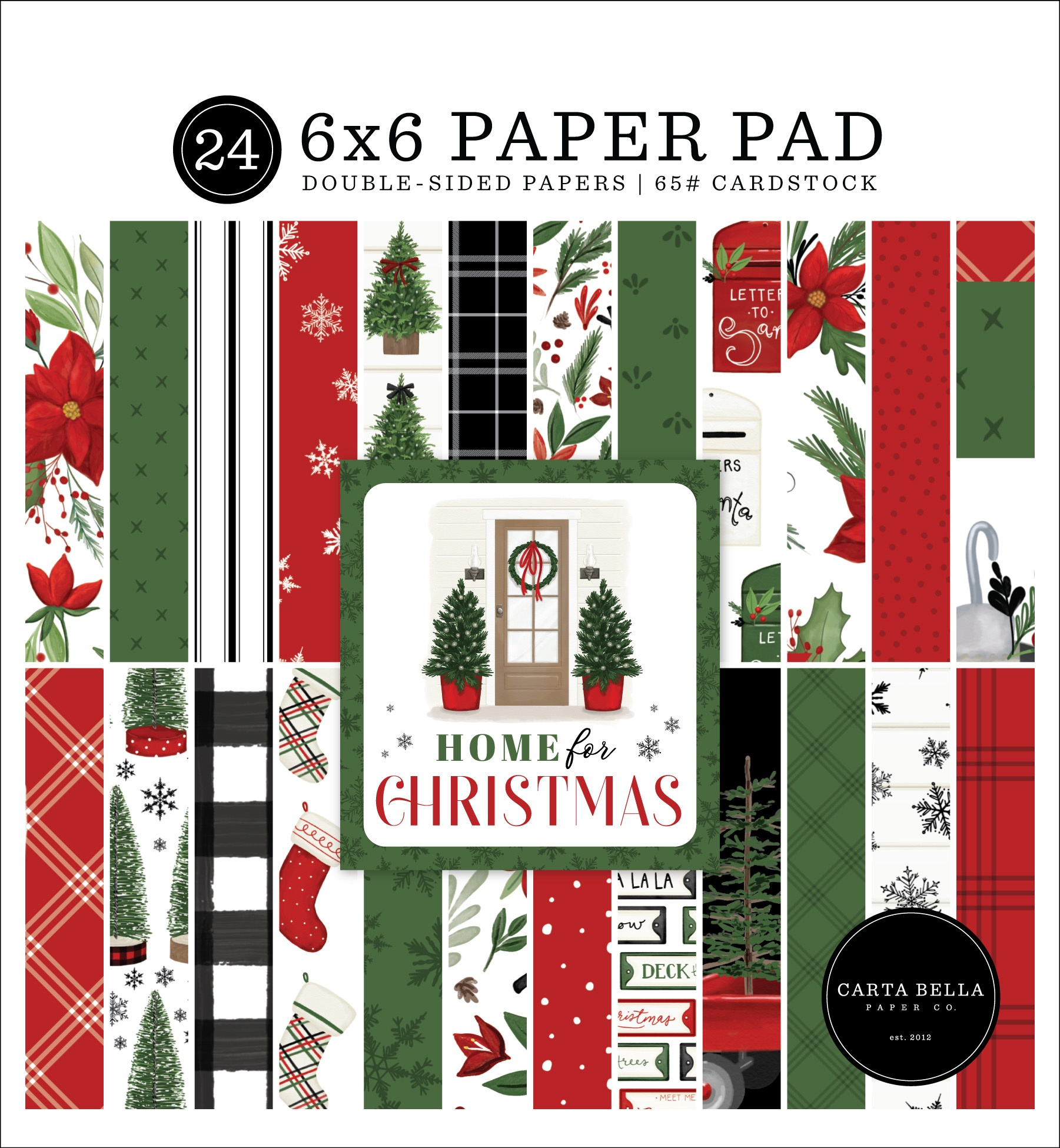 Carta Bella - Home For Christmas - 6x6 Paper Pad