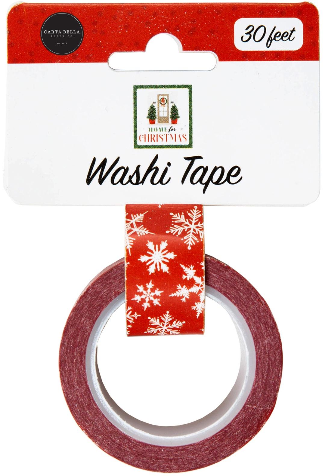 Carta Bella - Washi Tape - Christmas Snowflake