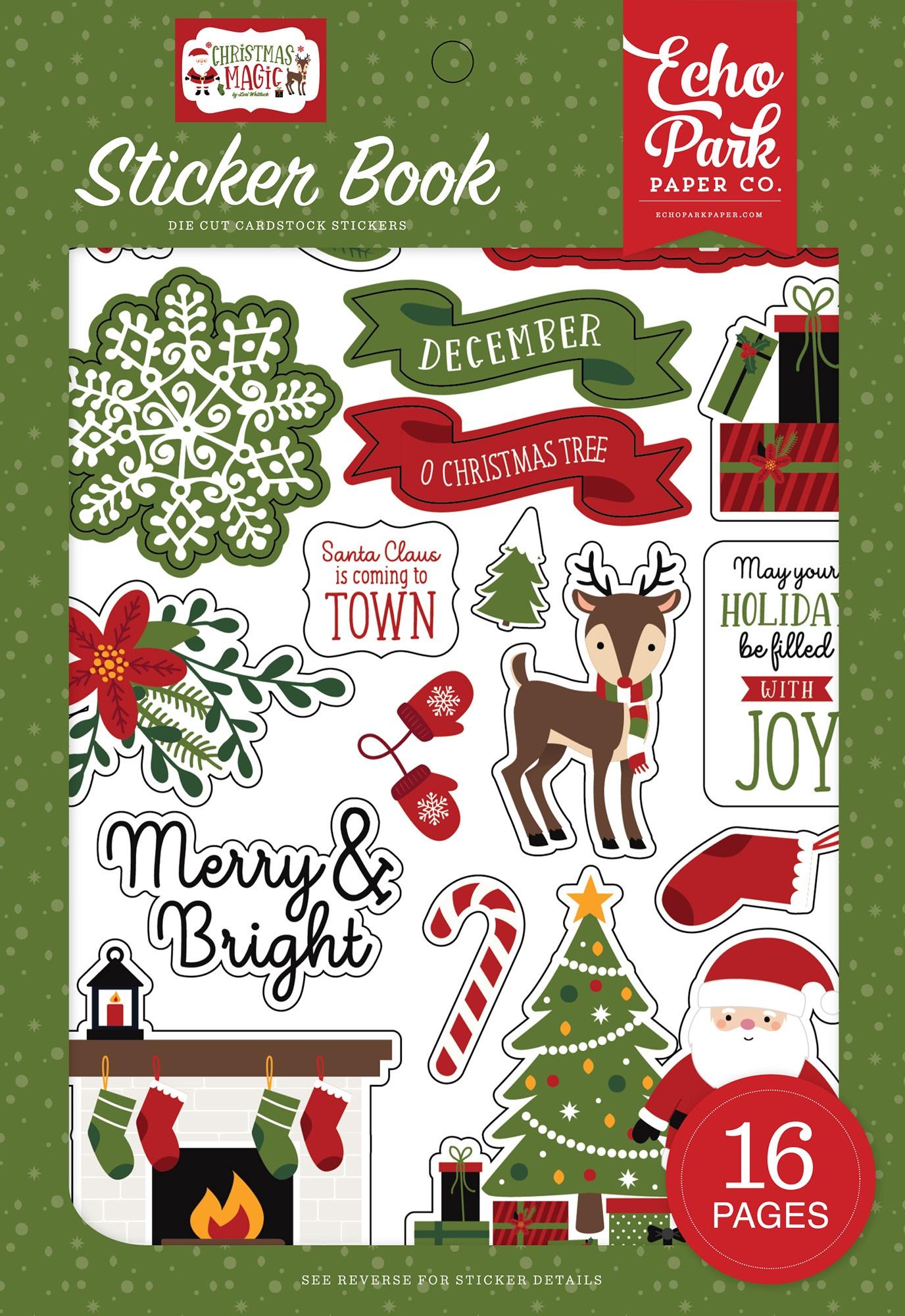 Echo Park - Christmas Magic - Sticker Book