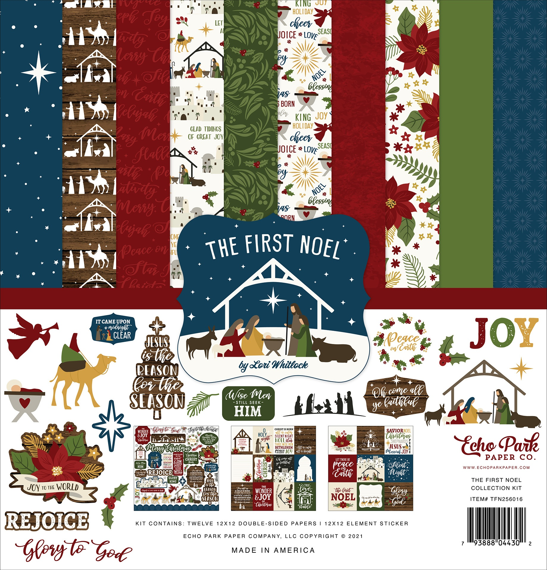Echo Park  - The First Noel - 12x12 Collection Kit