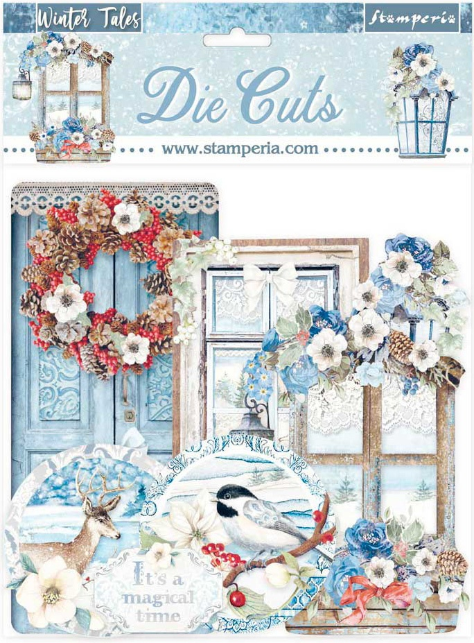 Winter Tales Quotes & Labels Die Cuts