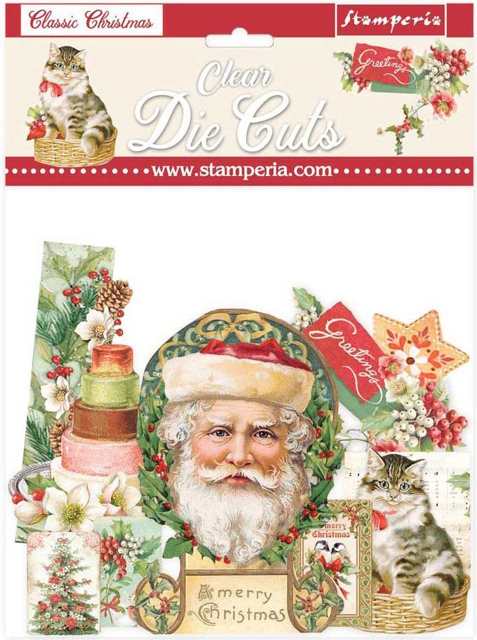 Classic Christmas Die Cuts