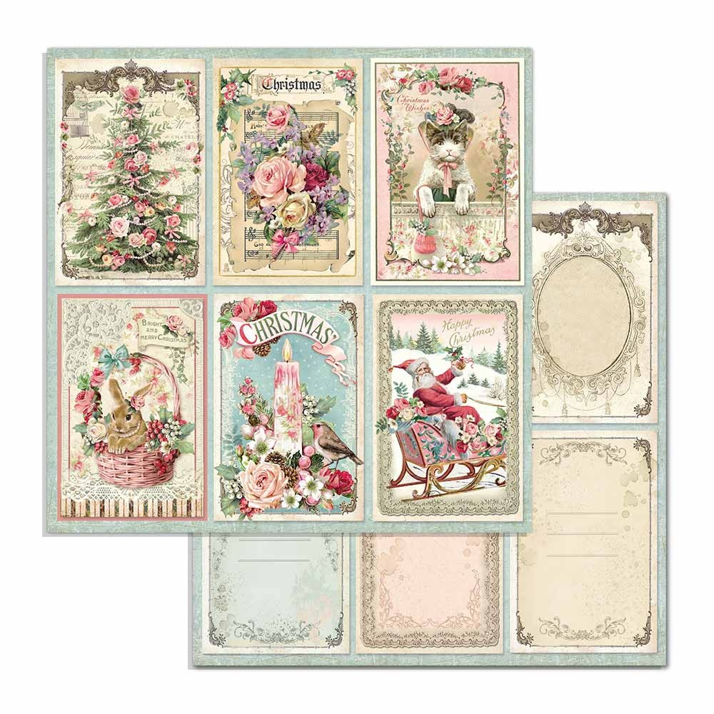 Pink Christmas Paper Pack