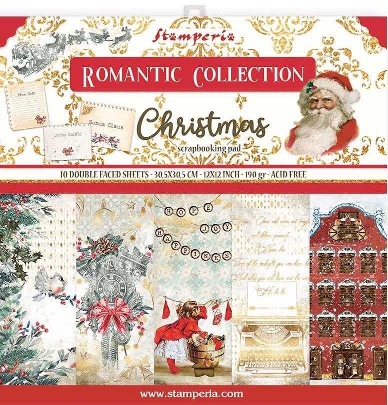 Romantic Christmas Paper Pack
