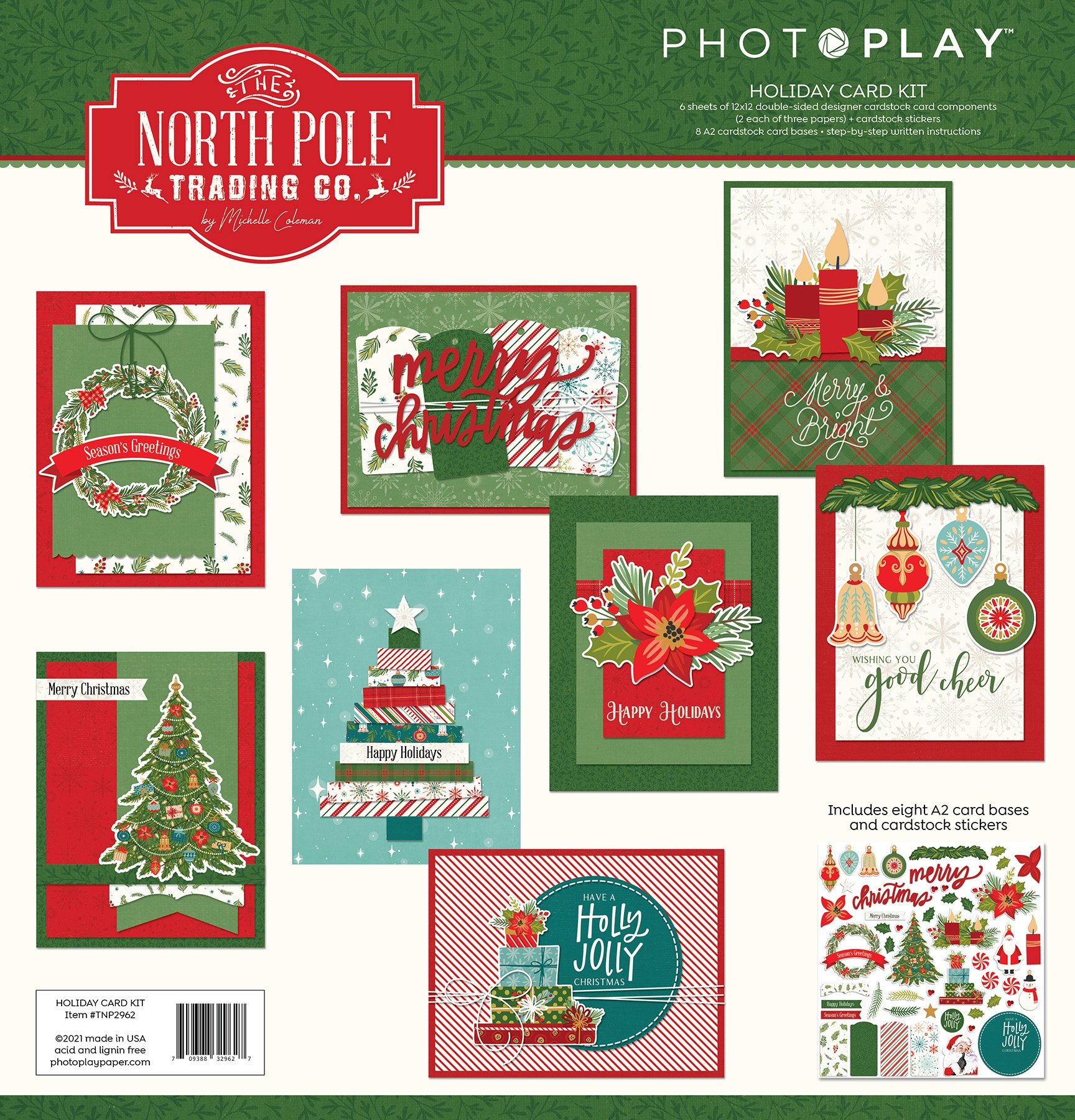 PhotoPlay Collection Card Kit-The North Pole Trading Co.