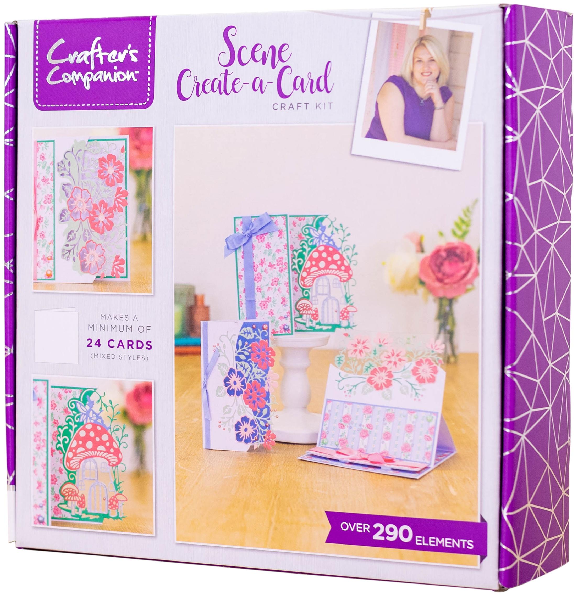 Crafter's Companion Craft Box Kit-Scene Create-A-Card