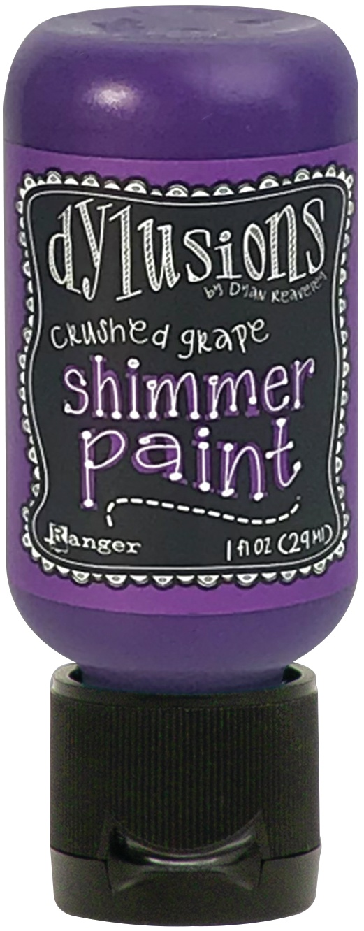 Dylusions Shimmer Paint 1oz-London Blue