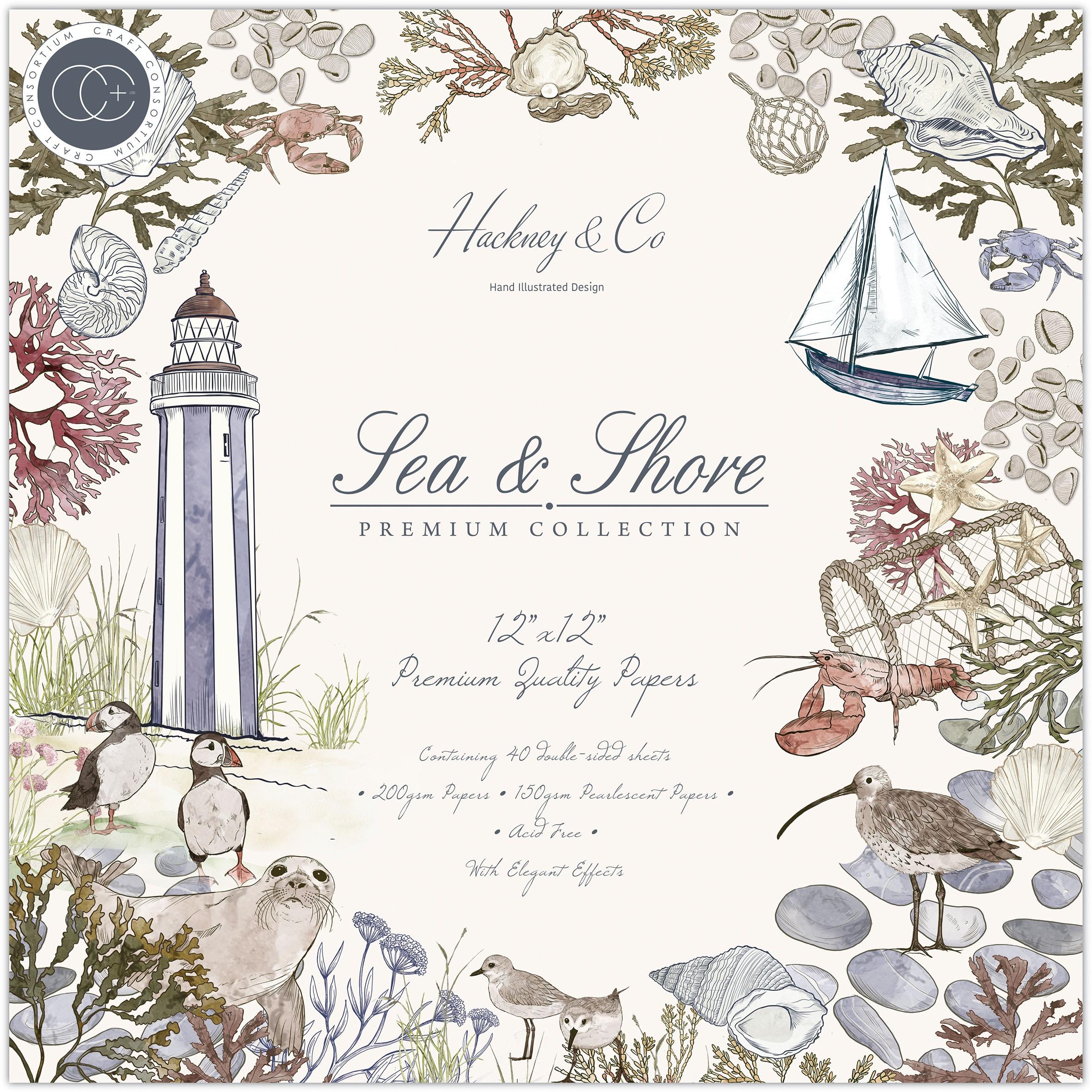 Craft Consortium - Sea & Shore - 12x12 Paper Pad