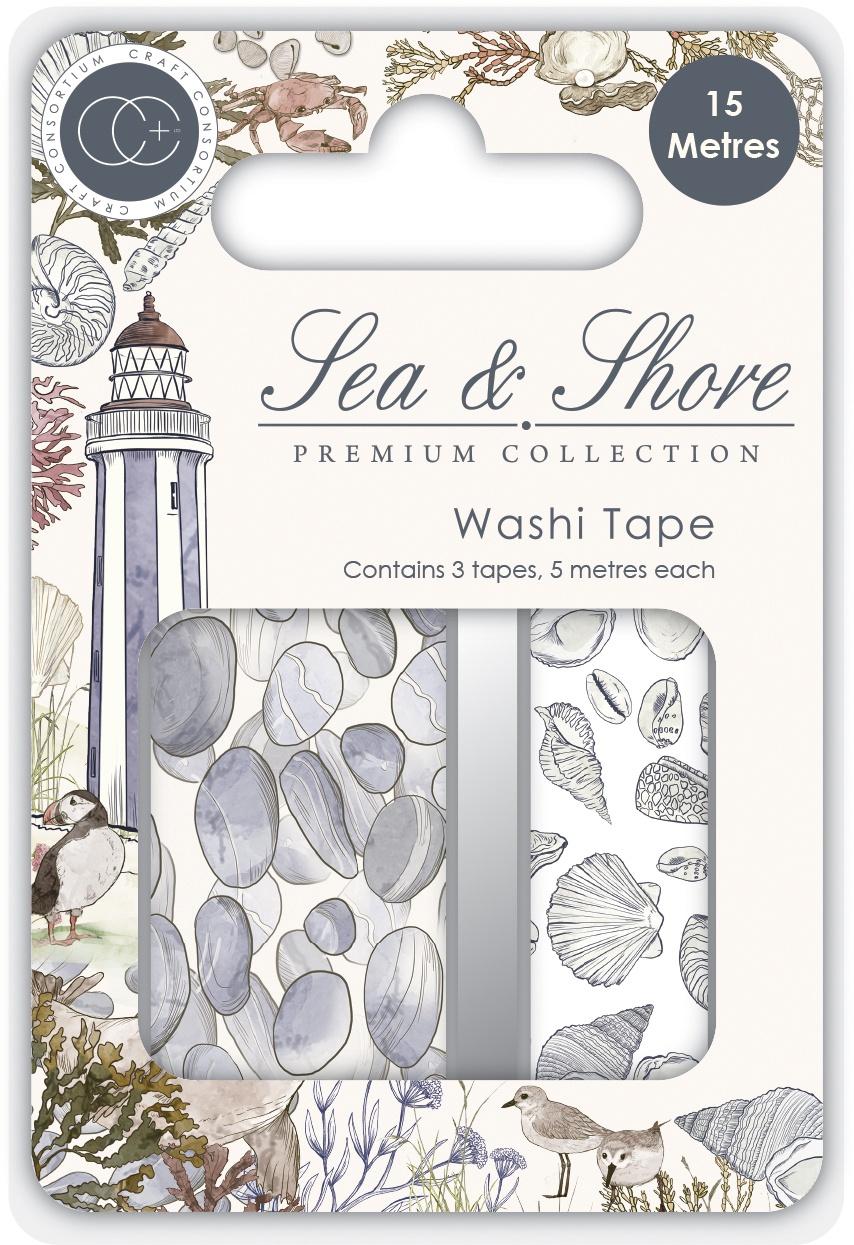 Craft Consortium - Sea & Shore - Washi Tape