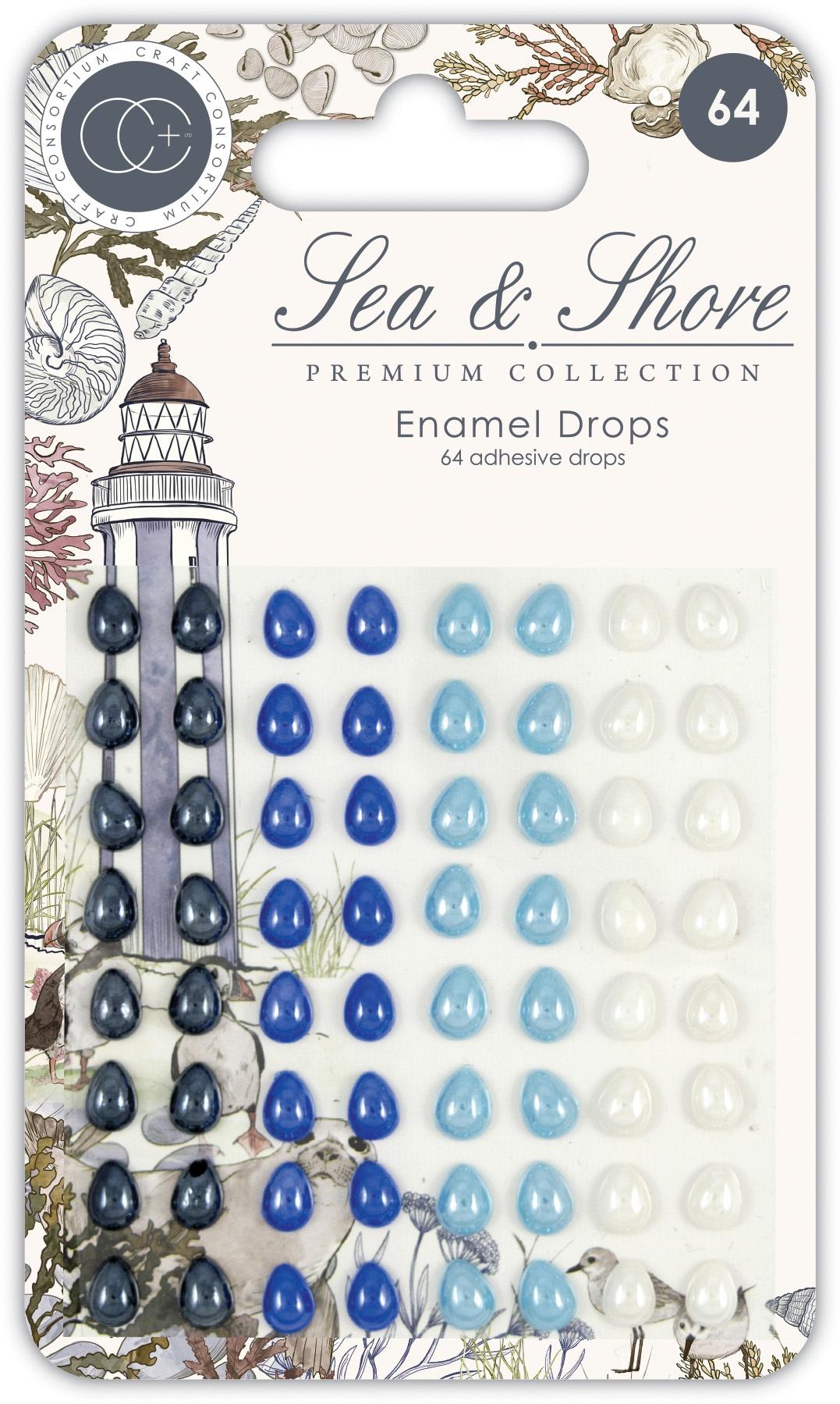 Craft Consortium - Sea & Shore - Enamel Drops
