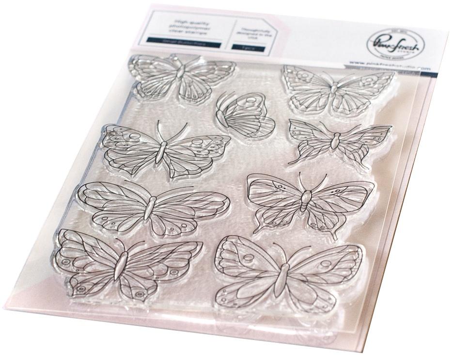 Small Butterflies Stamp Set 4X6