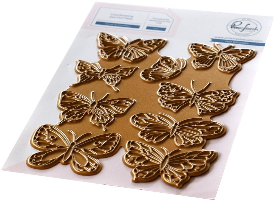 PF Hot Foil Plate-Small Butterflies