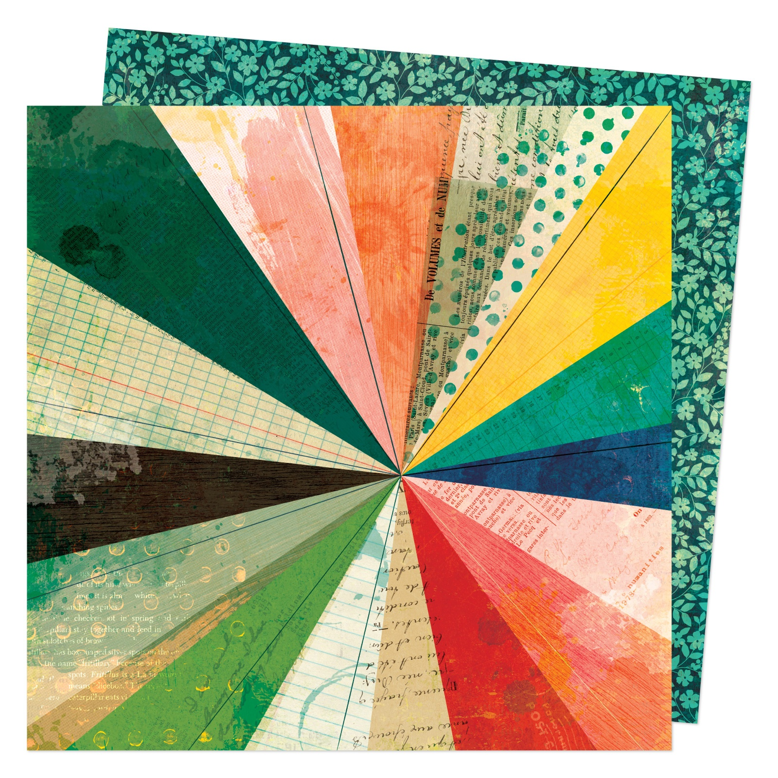 Vicki Boutin - Fernwood - BURST FORTH - 12x12 Double-Sided Paper