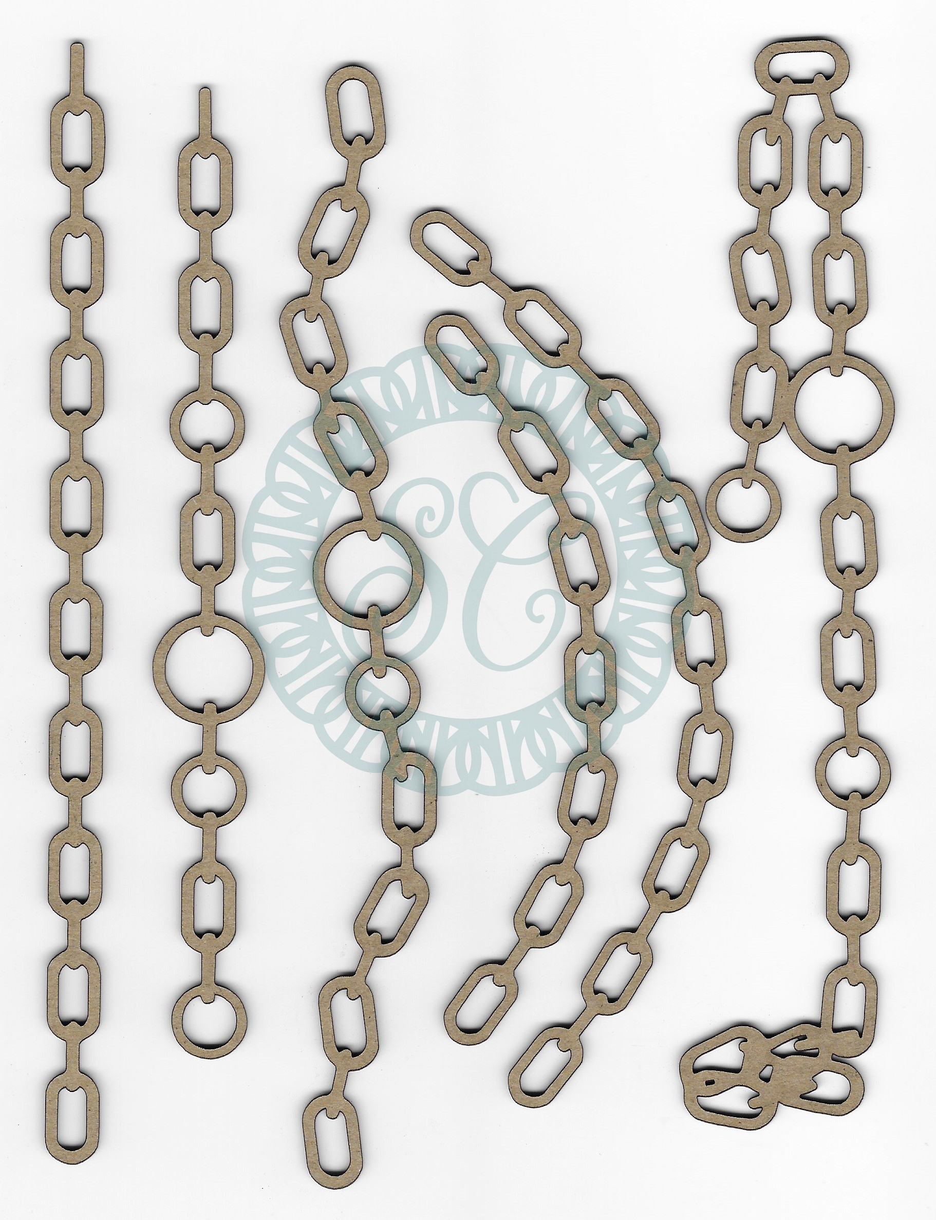 Chipboard-Memoirs Chains