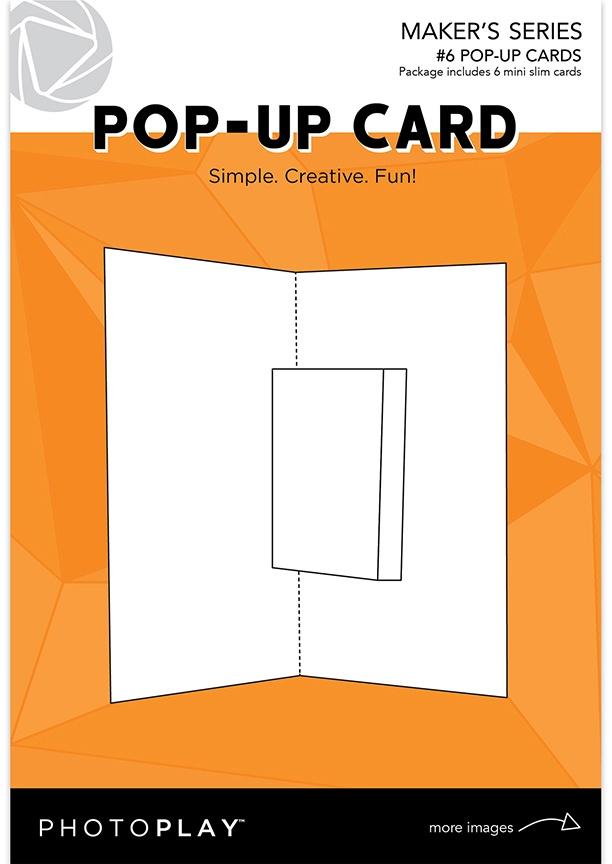PP Maker Series Pop-Up Card-(6) Mini Slim Cards