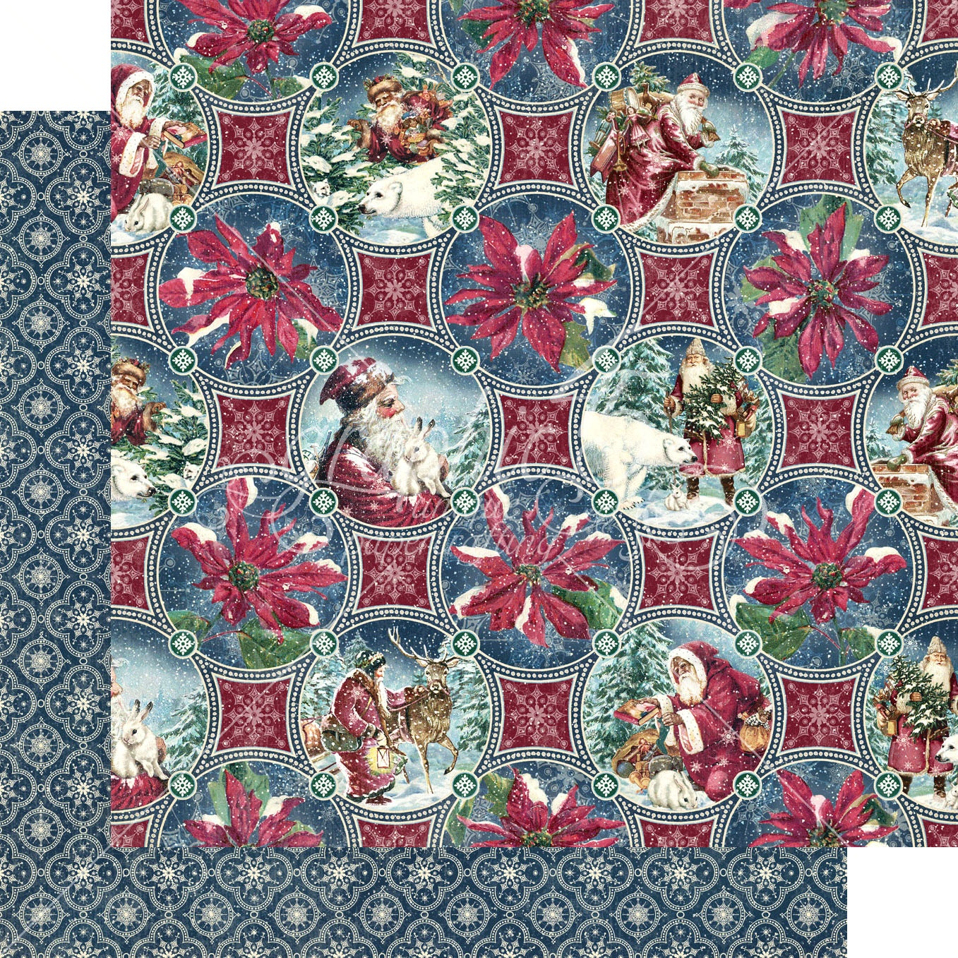 Let It Snow Double-Sided Cardstock 12X12-Christmas Dreams