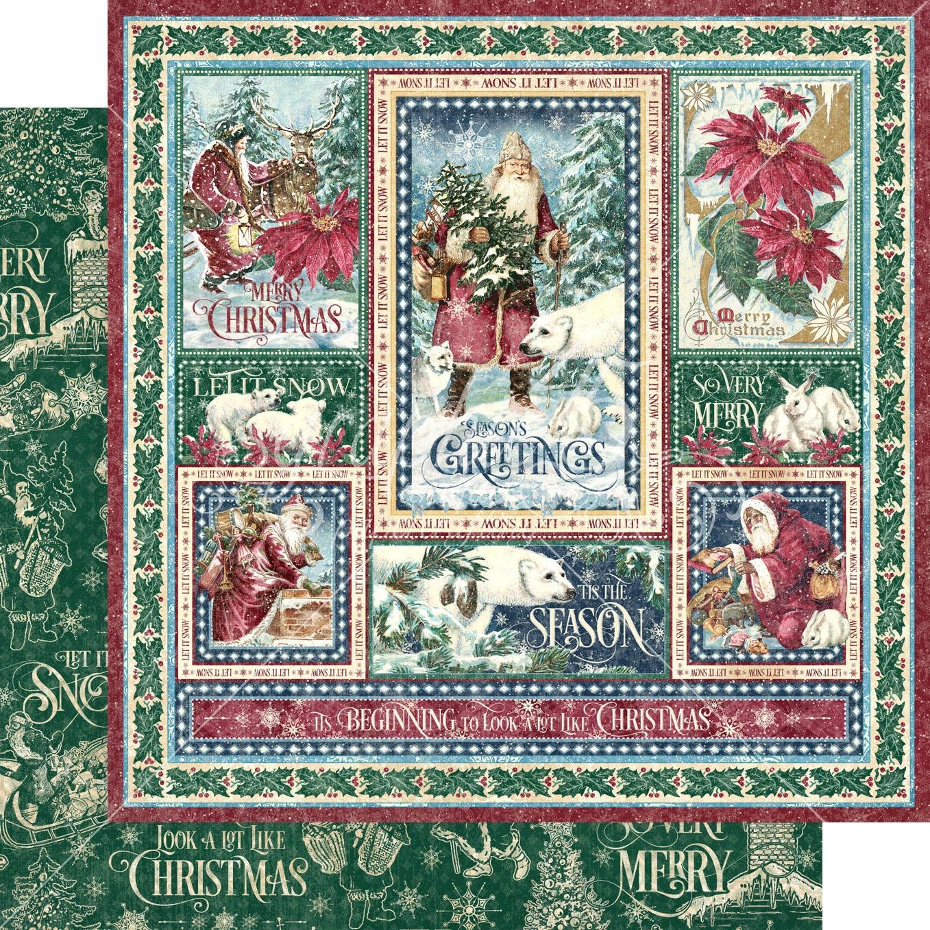 Let It Snow Double-Sided Cardstock 12X12-Winter Wonders