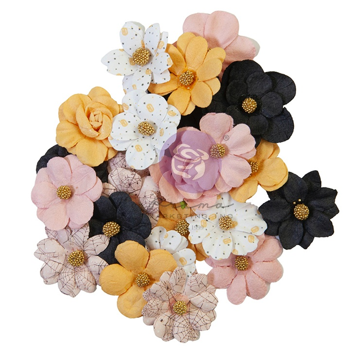 Prima Marketing Mulberry Paper Flowers-All The Treats/Thirty-One