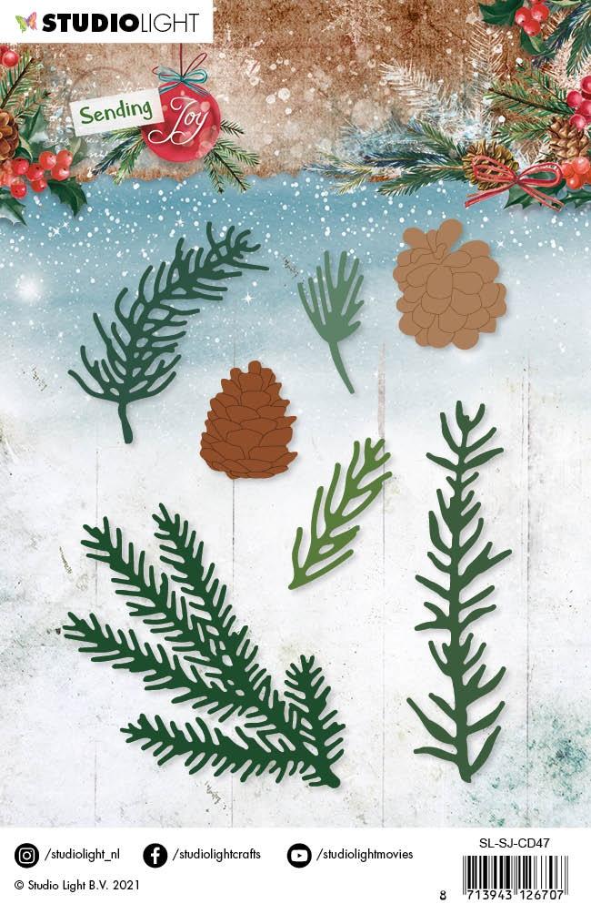 Sending Joy Cutting Die-NR 47 Branches/Pine