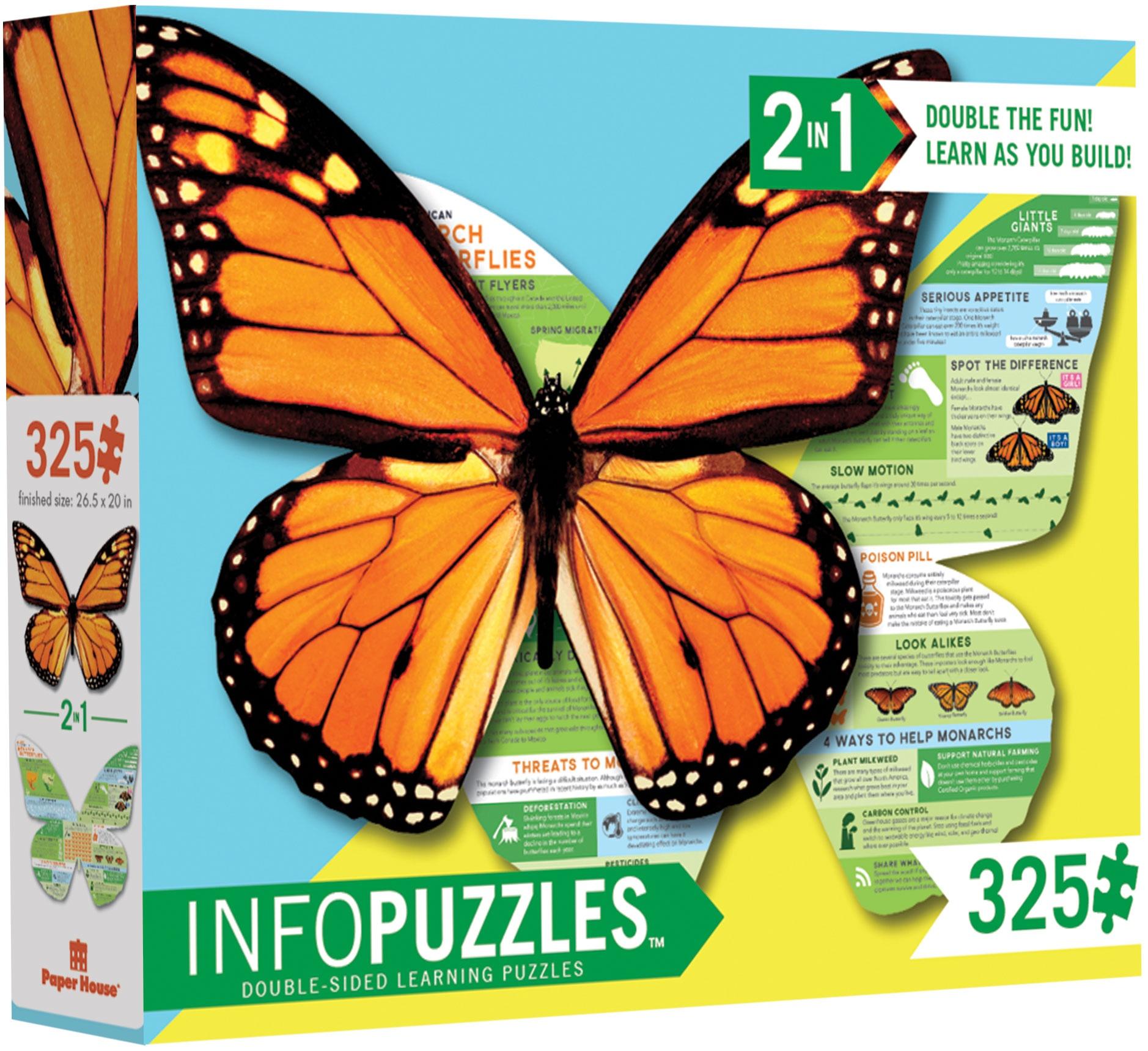 Paper House Productions Jigsaw Puzzle 325 Pieces-Monarch