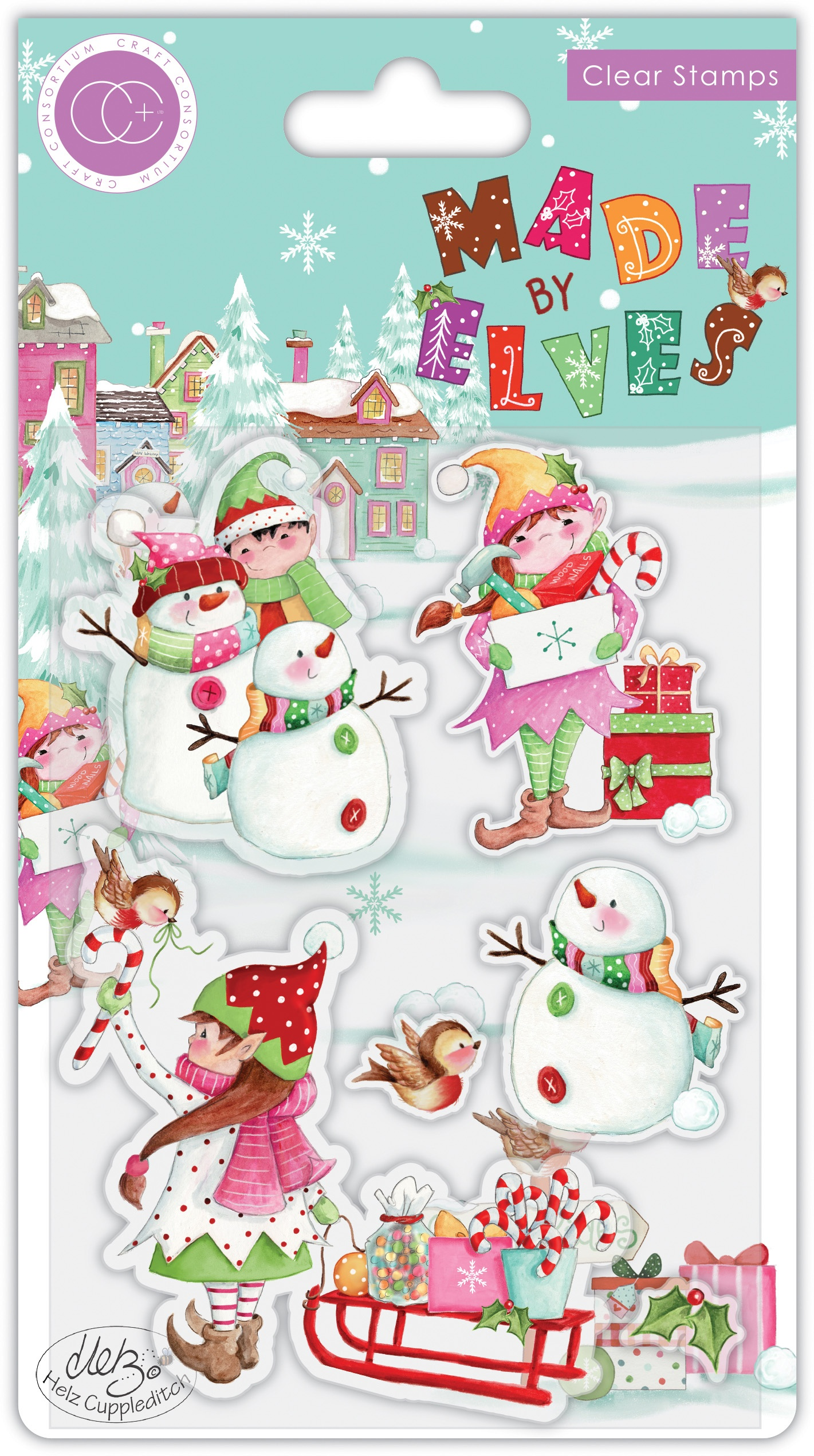 Made By Elves Candy Stamp Set