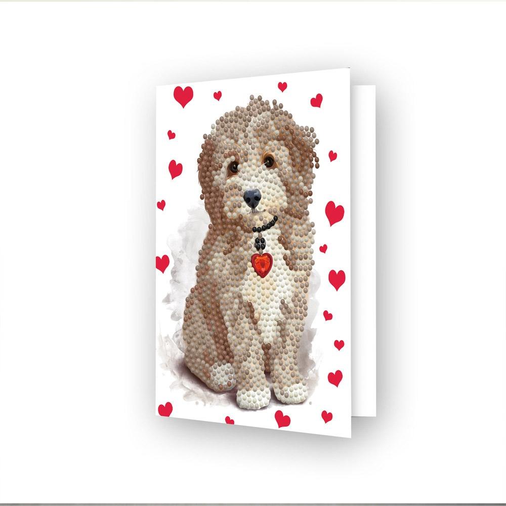 Diamond Dotz Diamond Art Greeting Card Kit - Lovely Boy