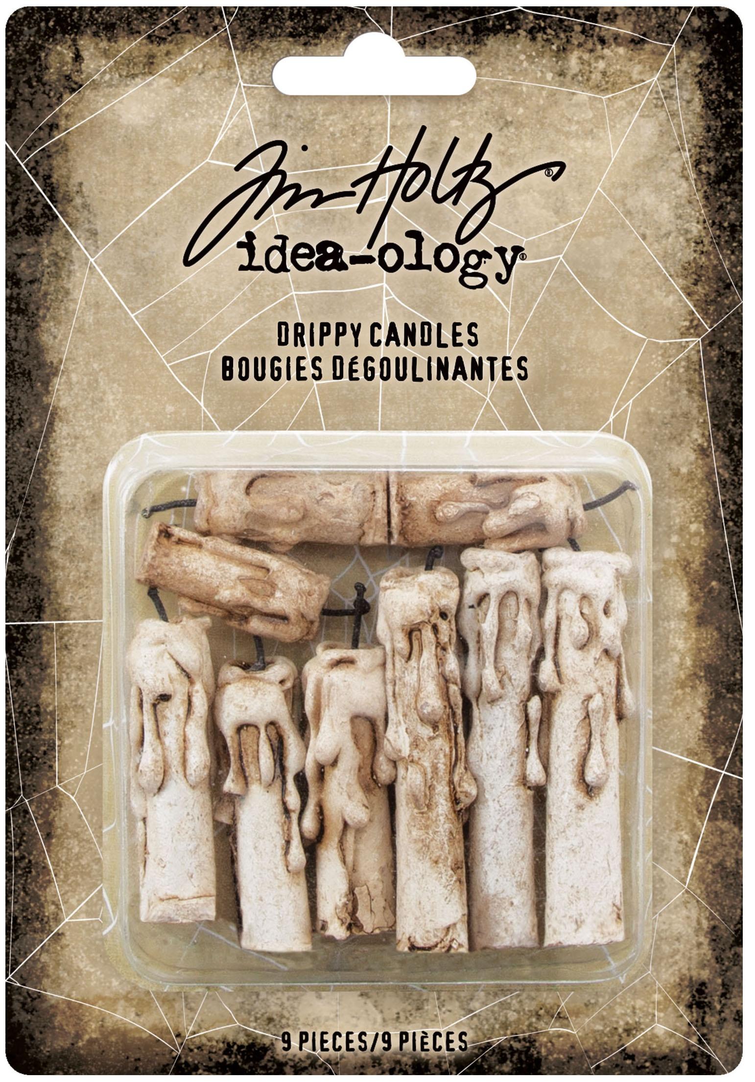 Idea-Ology Drippy Candles 9/Pkg-Halloween