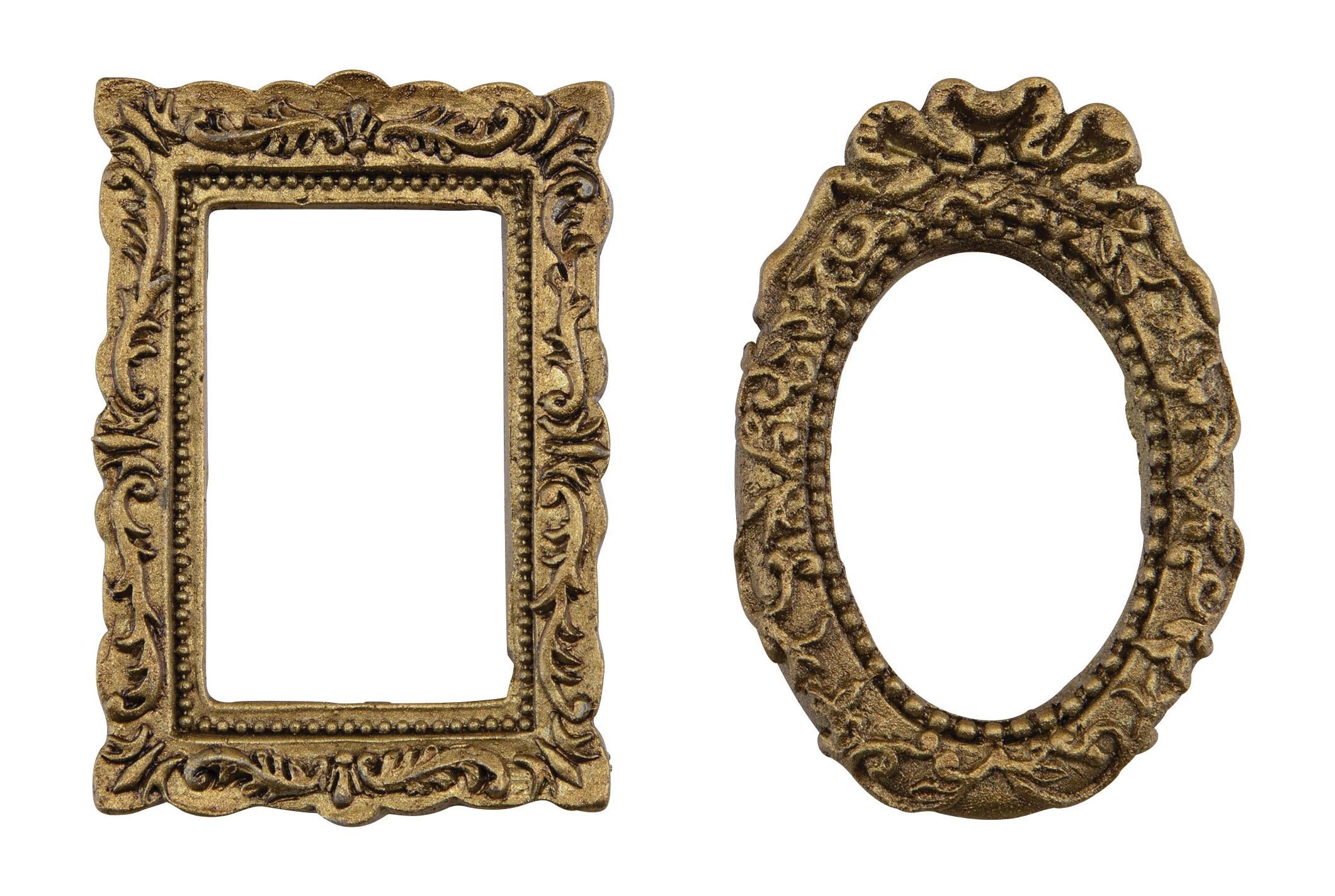 Idea-Ology Metal Gothic Frames 2/Pkg-Halloween