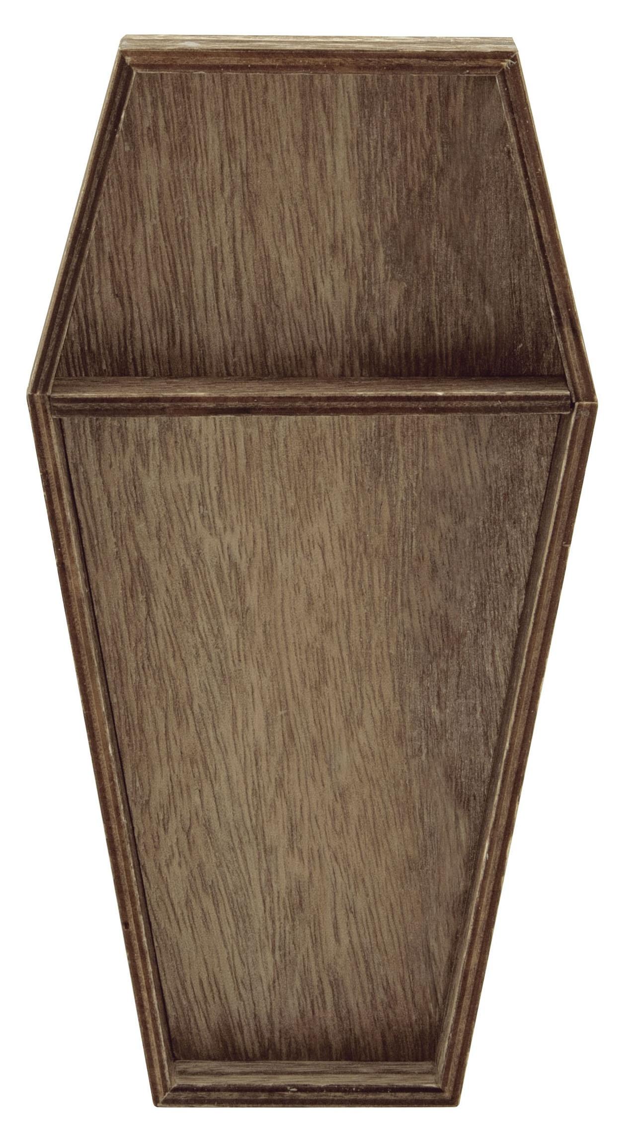 Idea-Ology Wooden Vignette Coffin Tray-