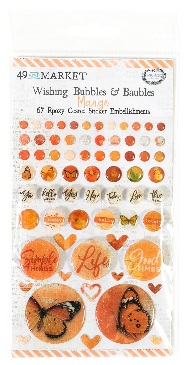 49 And Market - Wishing Bubbles & Baubles - Mango