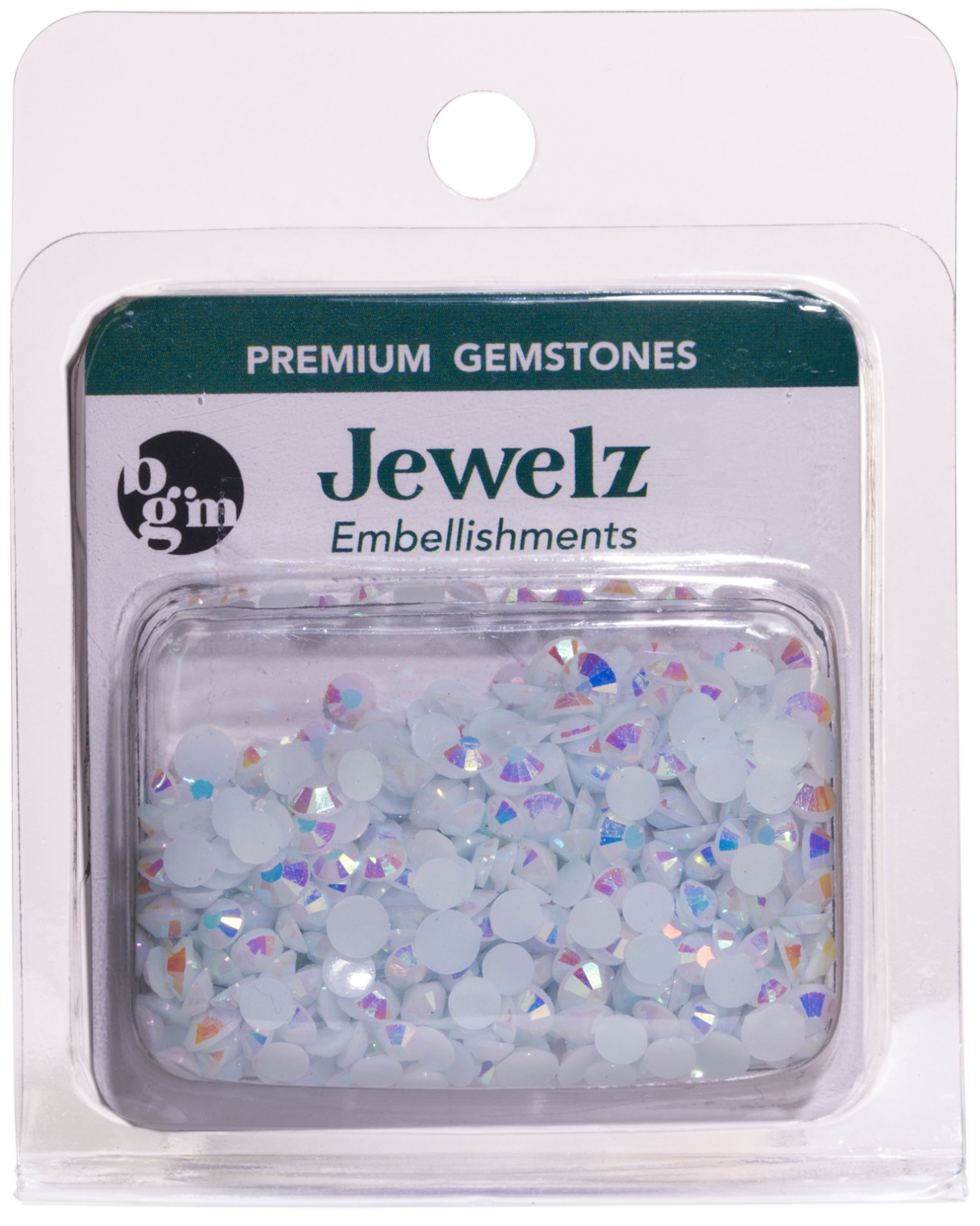 NEW! Buttons Galore Jewelz 8g-White