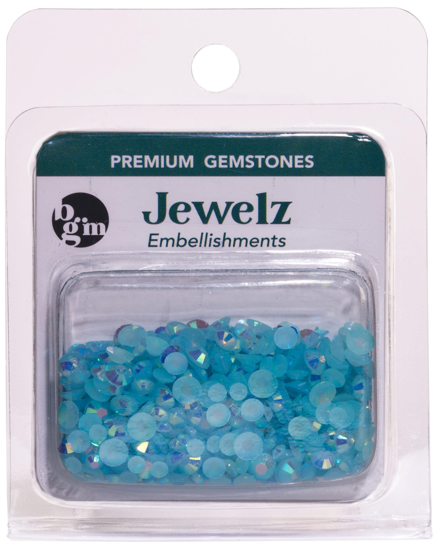 Buttons Galore - Jewelz - Capri Blue