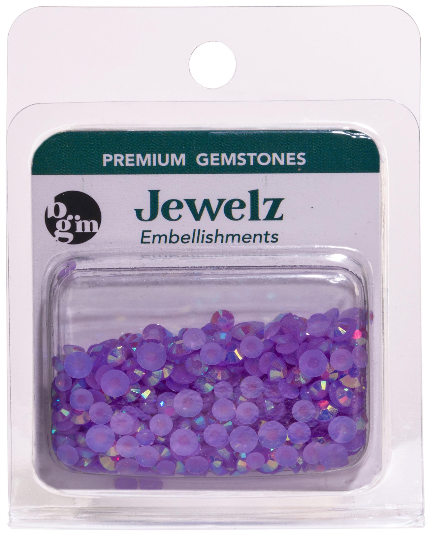 NEW! Buttons Galore Jewelz 8g-Light Amethyst