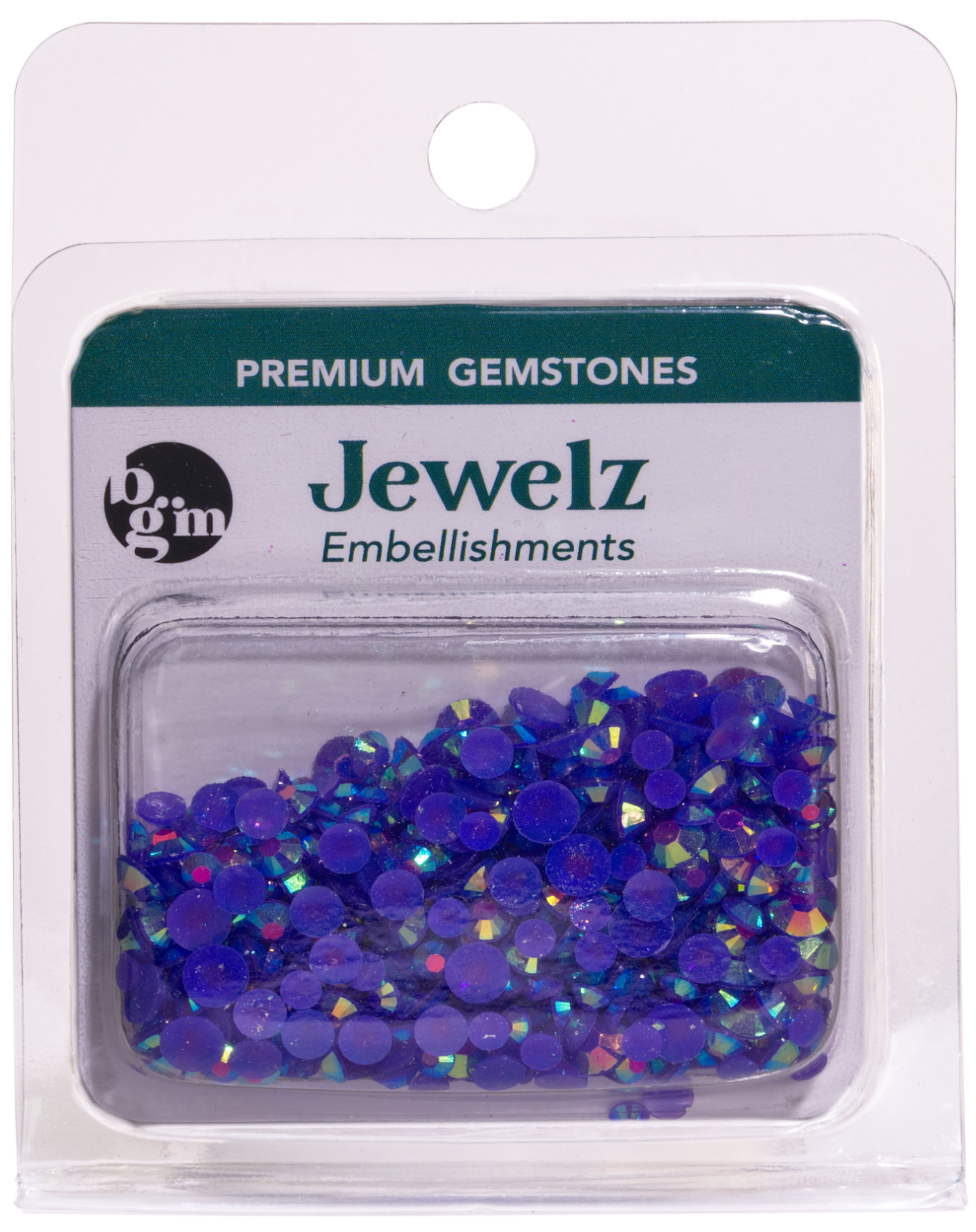 Buttons Galore - Jewelz - Amethyst AB