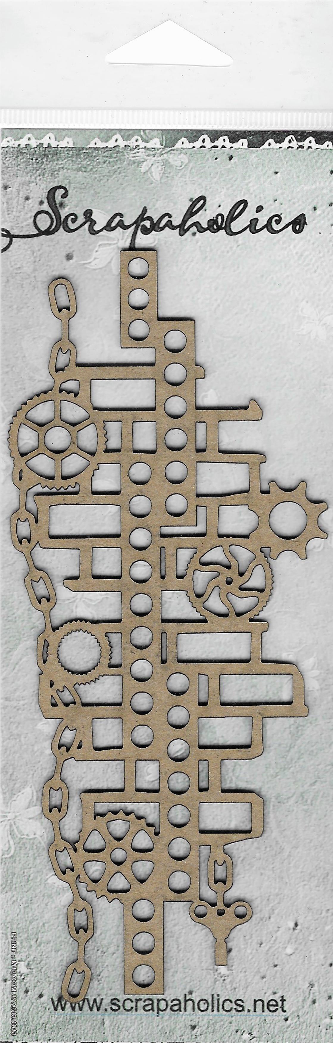 Brick Melody Laser Cut Chipboard